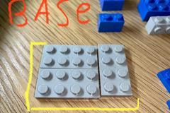 Montage d'une génératrice legos